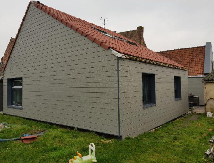 Travaux d'isolation extérieure et pose de bardage près de Arras Isol-combles & Isol-bardage